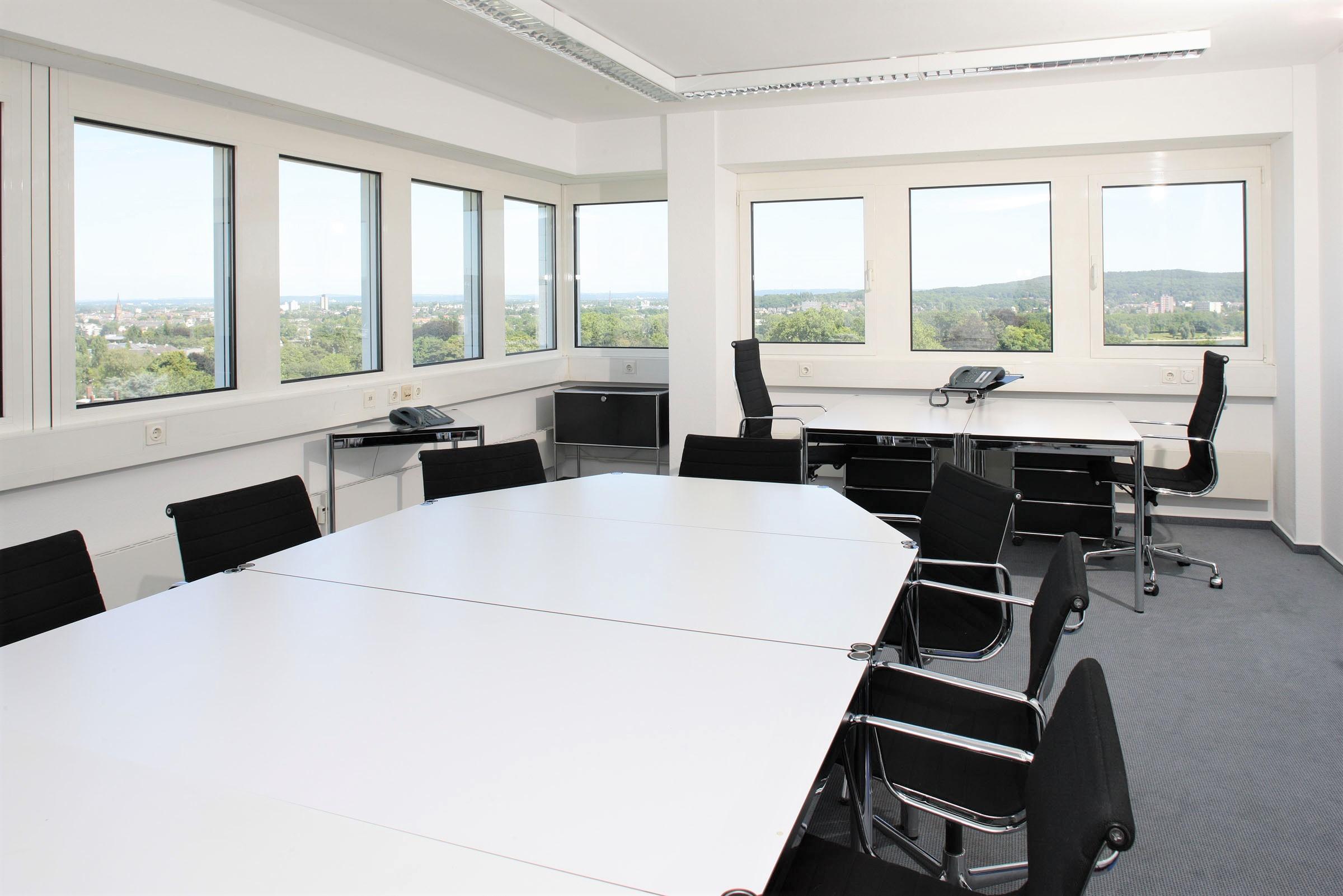 Office boardroom looking very clean